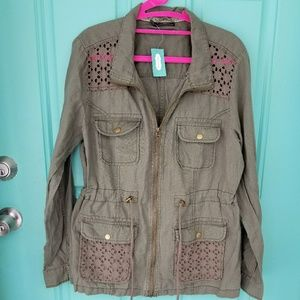 |MAURICES| Lightweight Olive Green Jacket